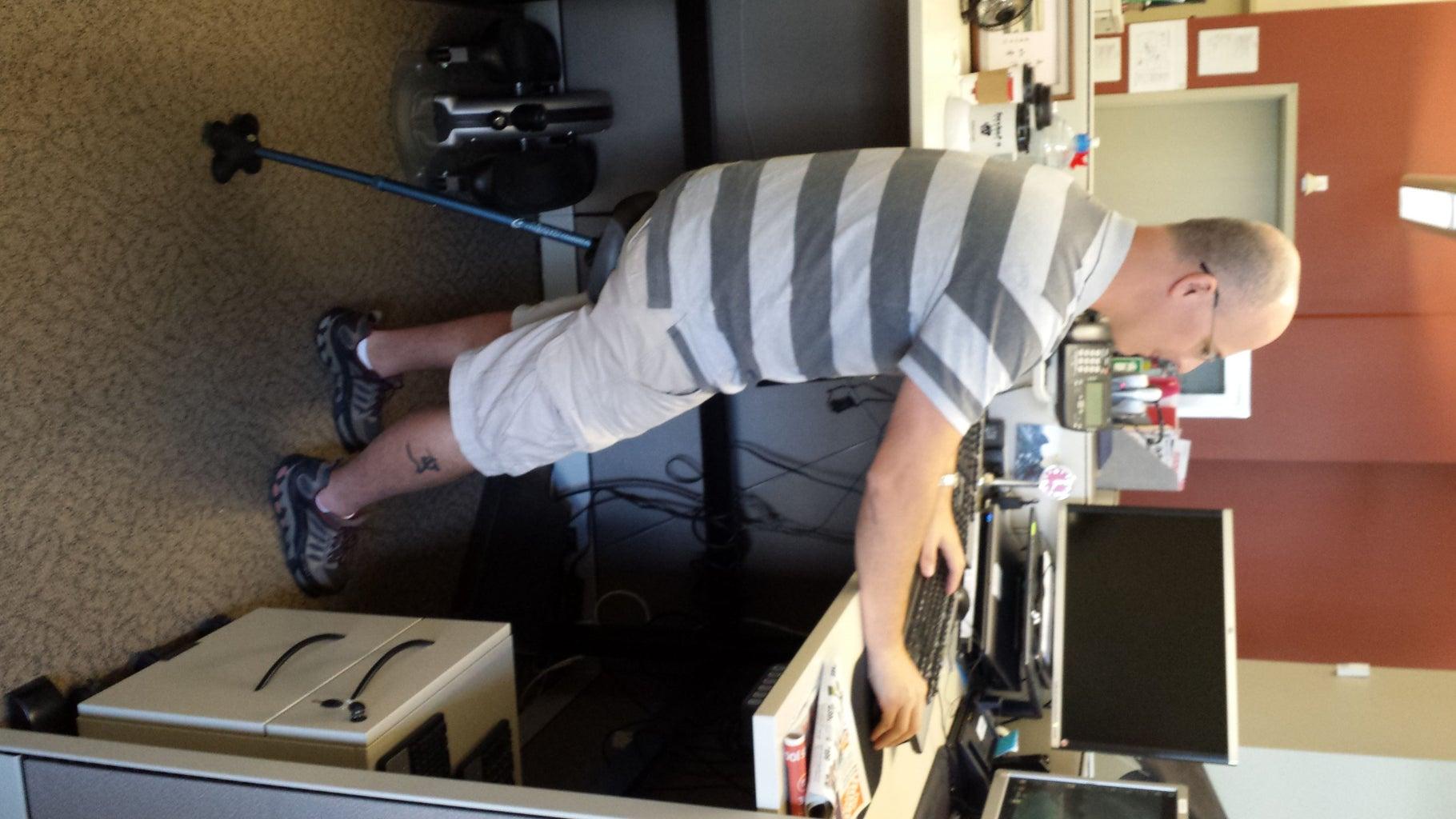 Leaning Stool / Human Kickstand / Wobble Chair