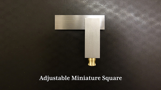 How to Make a Miniature Adjustable Square