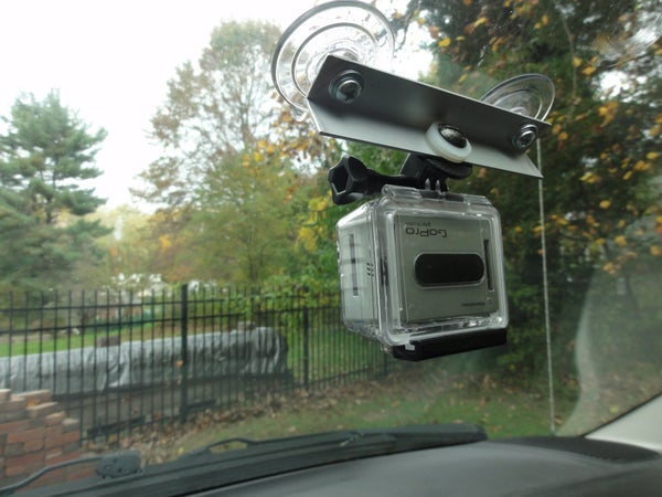 GoPro Suction Cup Windshield Mount