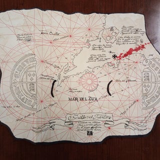 The Goonies Treasure Map