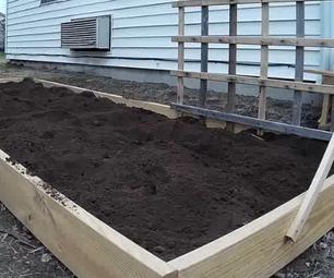 Filling Raised Garden Bed