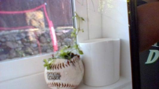 Baseball Plant Pot