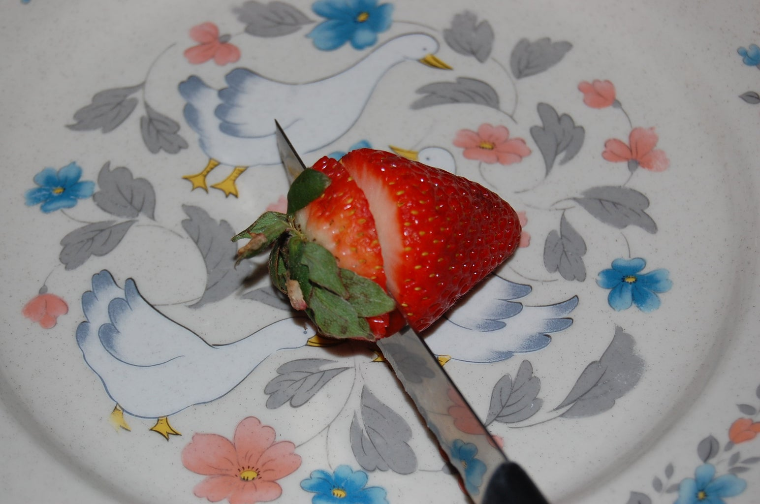Macerate the Strawberries