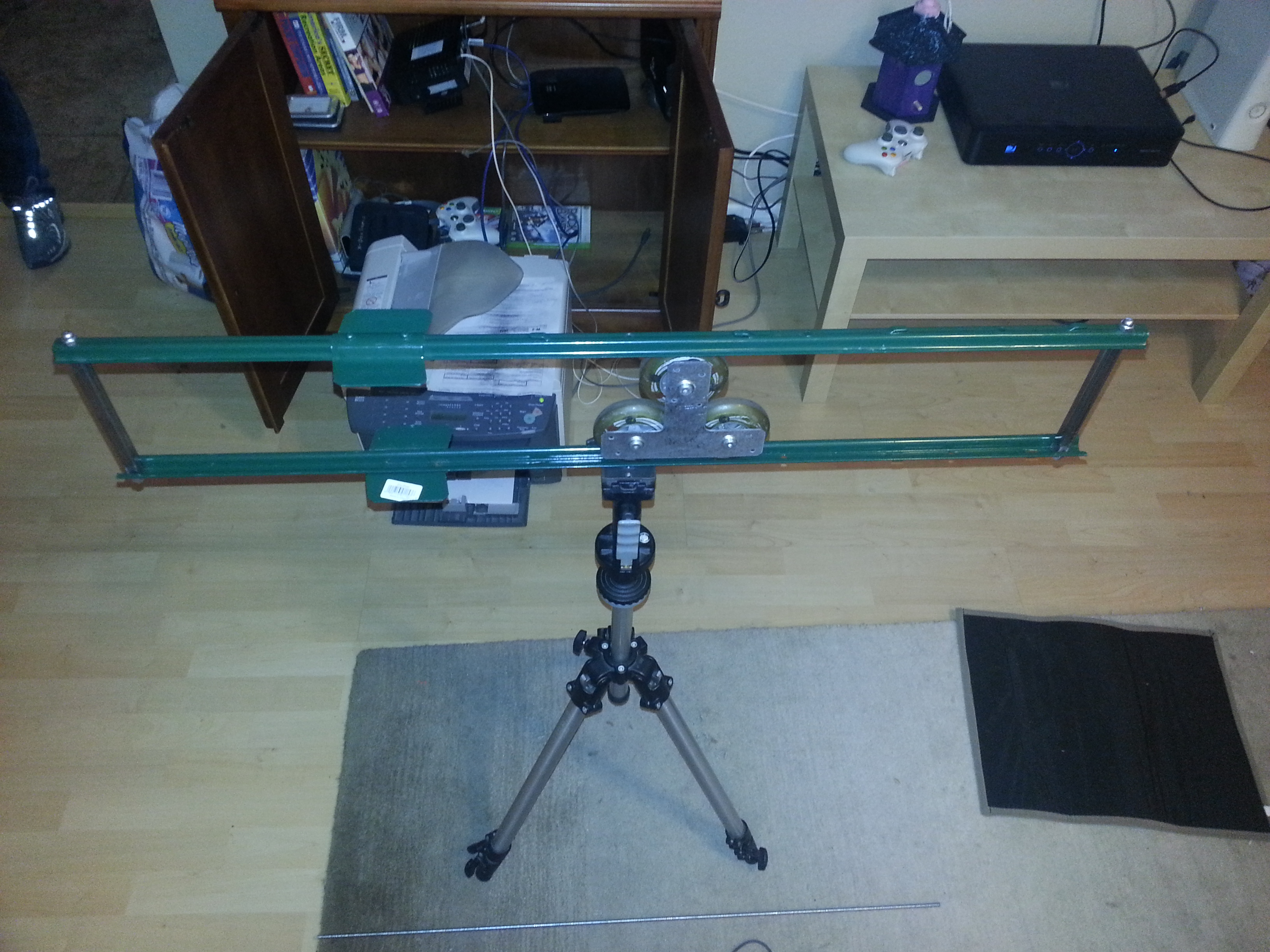 Yes, Another Camera Slider - NOW MOTORIZED!