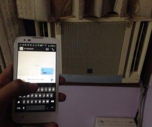 Smart SMS Powered Air Conditioner Using LinkitONE