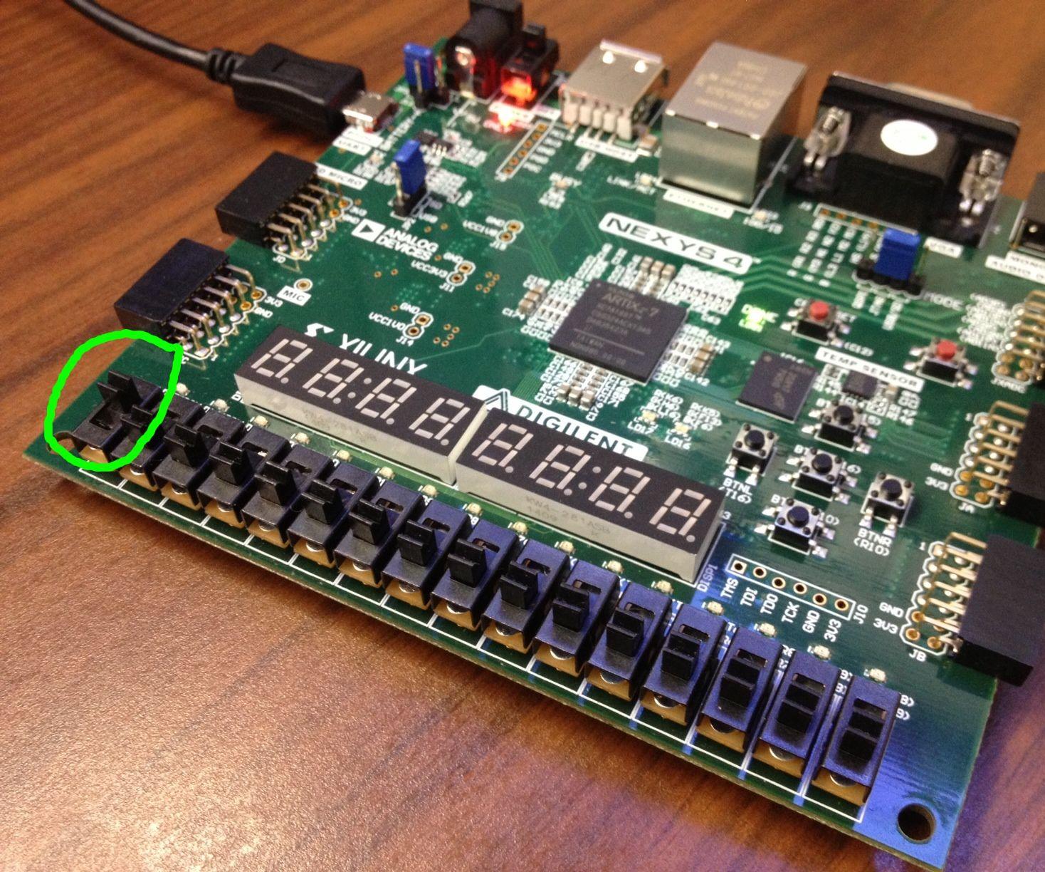 Setting up Microblaze on the Nexys4 FPGA Board