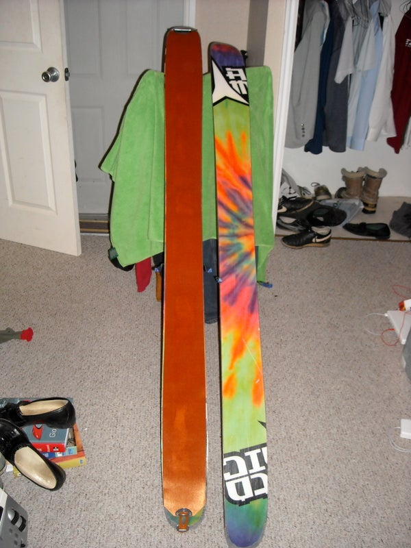 Applying Skins to Your Skis.