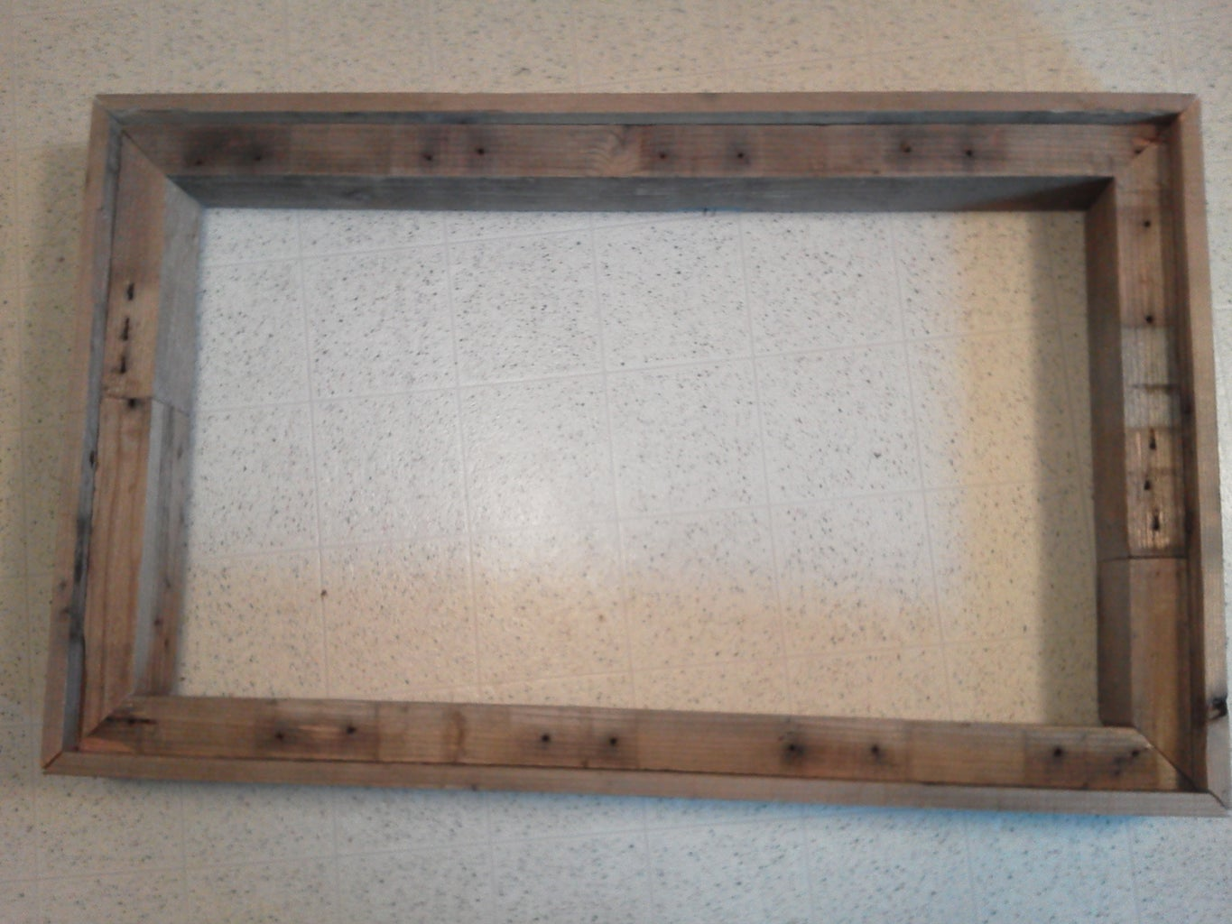 Cut and Assemble Frame