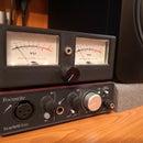 来自划痕的复古模拟音频VU仪表!