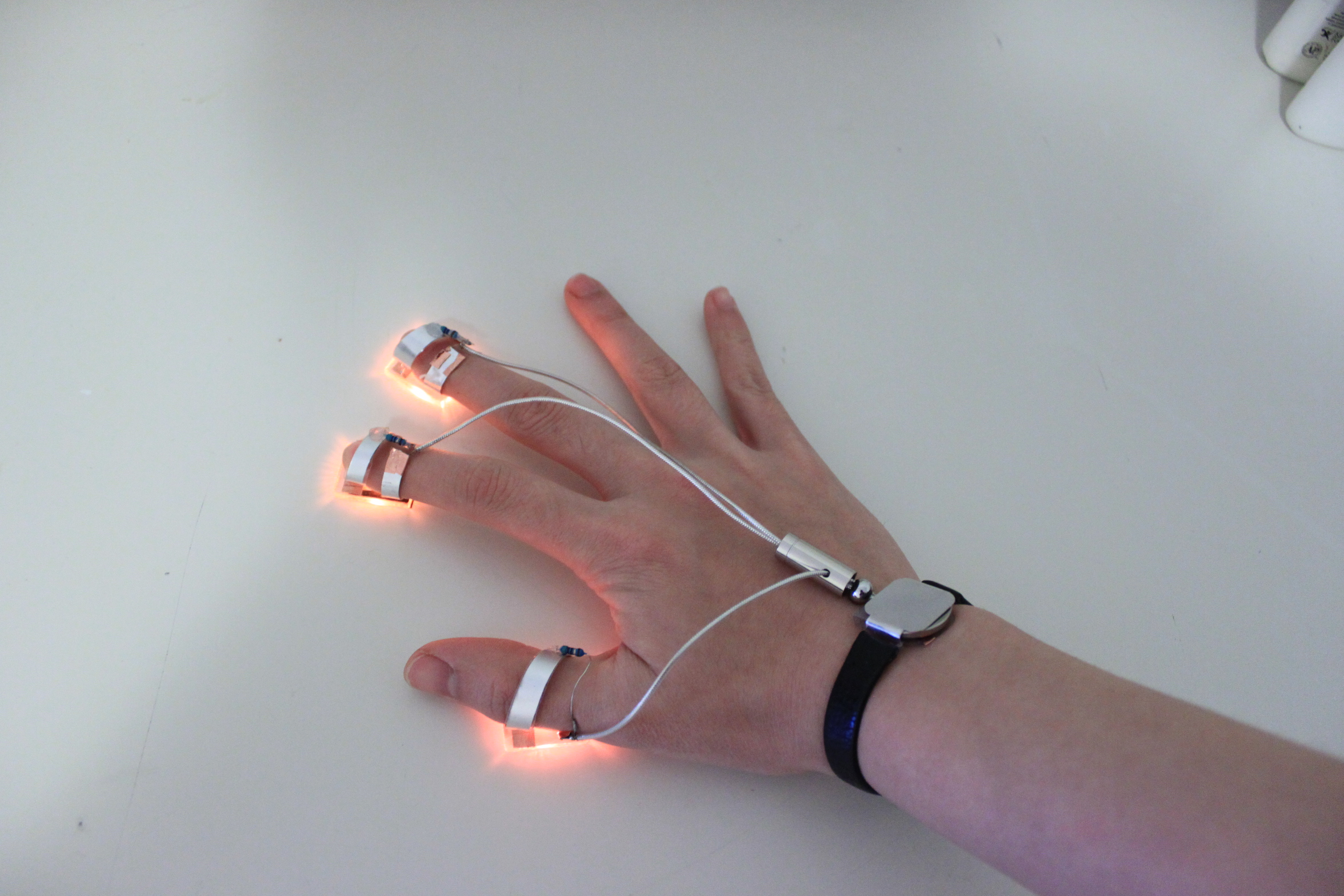 Touch Activated Finger Led (Glove Optional)