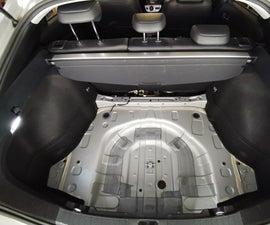 Prius Gen4 Rear Wheel Acoustic Isolation
