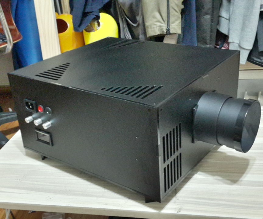 DIY 2k(2560x1440) LED beam projector