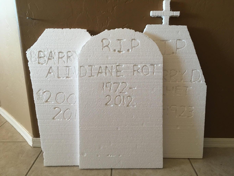 Engrave the Gravestones