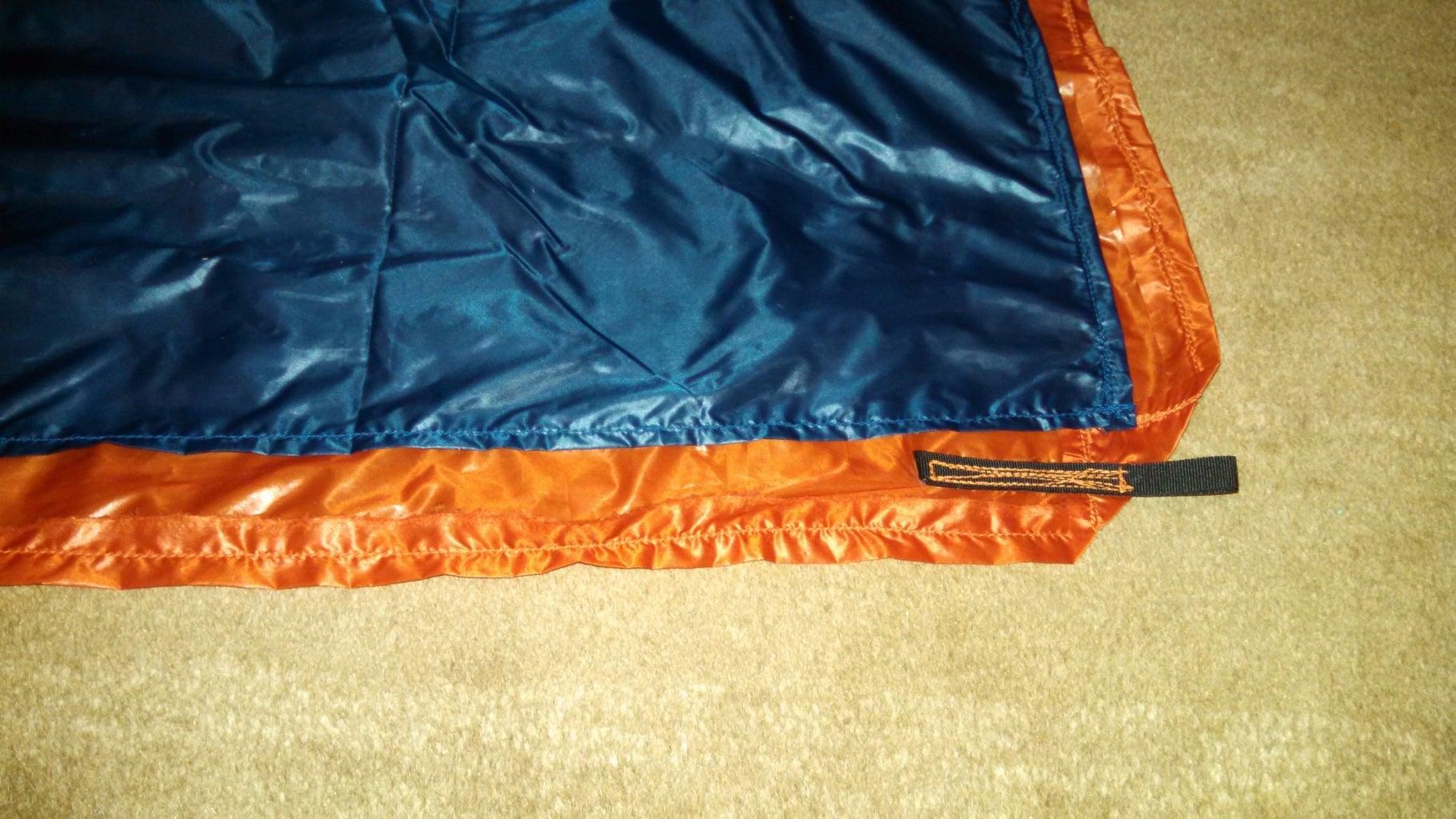 Sew in Grossgrain Loops for Suspension