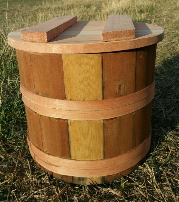 Wooden Nukazuke Bucket