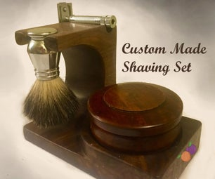 Complete Shaving Set Holder
