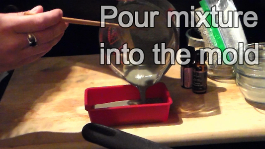 Mix and Pour Into Mold
