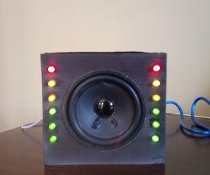 Vu Meter Speaker