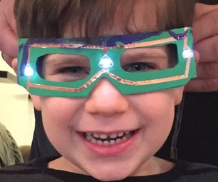 EZ LED Glasses