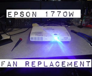 Epson 1770W LCD Projector Overheating? Repair It!