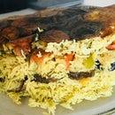 Maqluba-Middle Eastern Dish