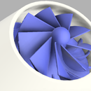 3D Printed JET TURBINE V2