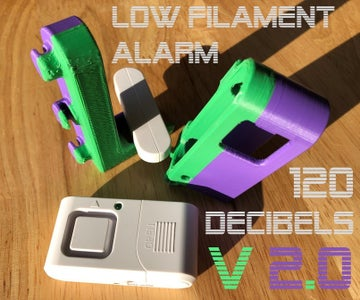 Extremely Loud Low Filament Alarm - Version 2.0