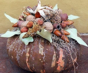 A Simple, Non-Traditional Pumpkin DIY in Natural Tones