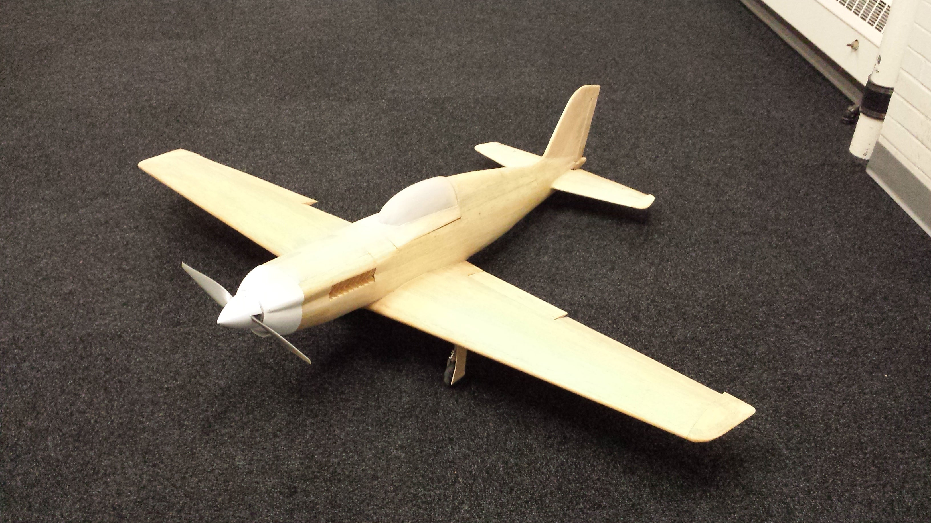 """Wall Mount Mounted Extra 18/"""" Long Wood Desk Display Model Airplane ES Aircraft"""