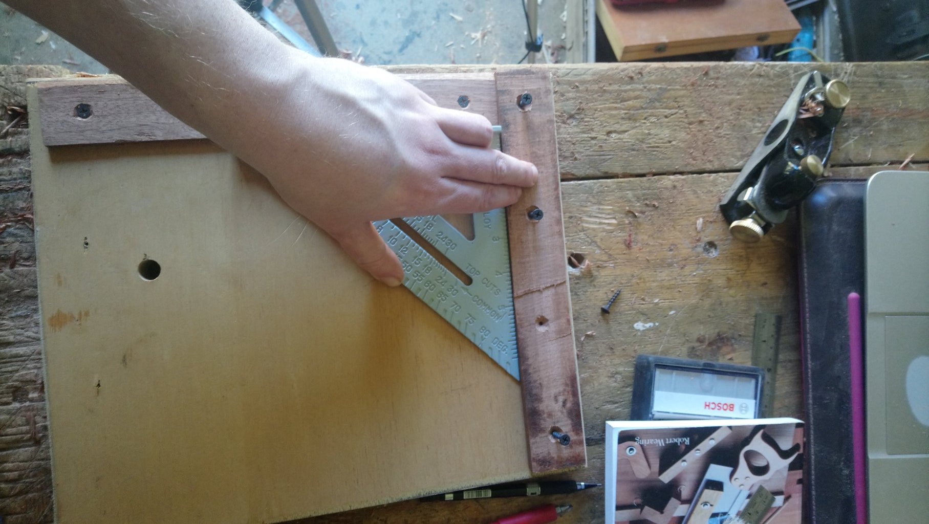 Attaching and Planing the Stops
