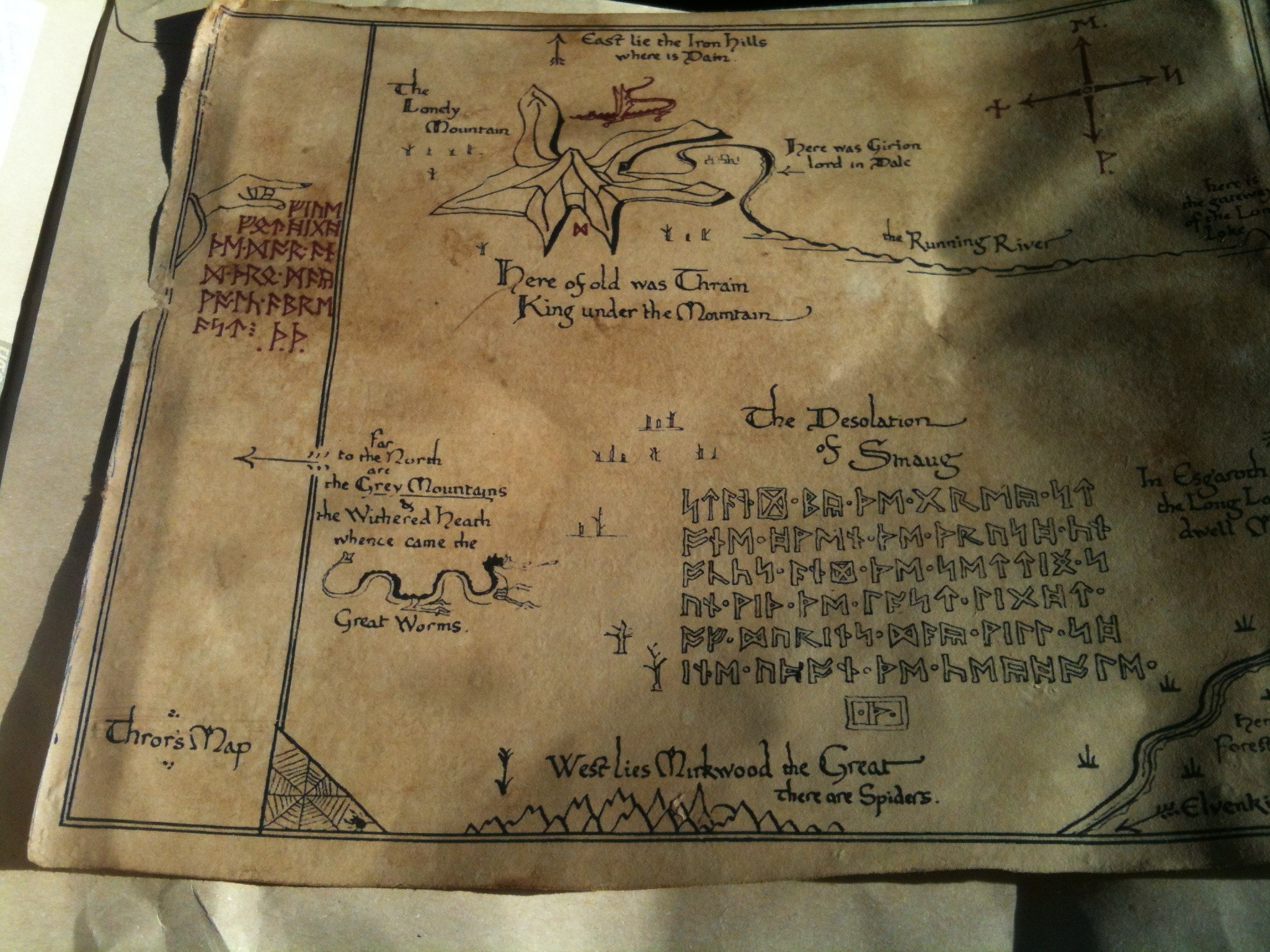 DIY Thrors' map