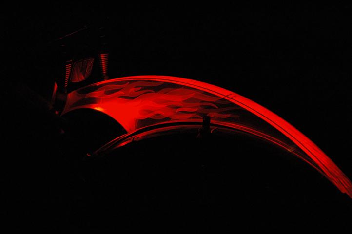 Laser-Cut Bike Light