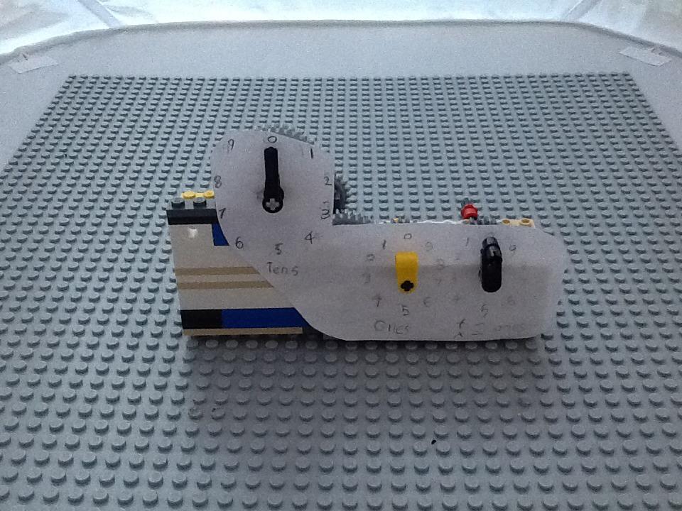How To Make A Working Mechanical Lego Calculator