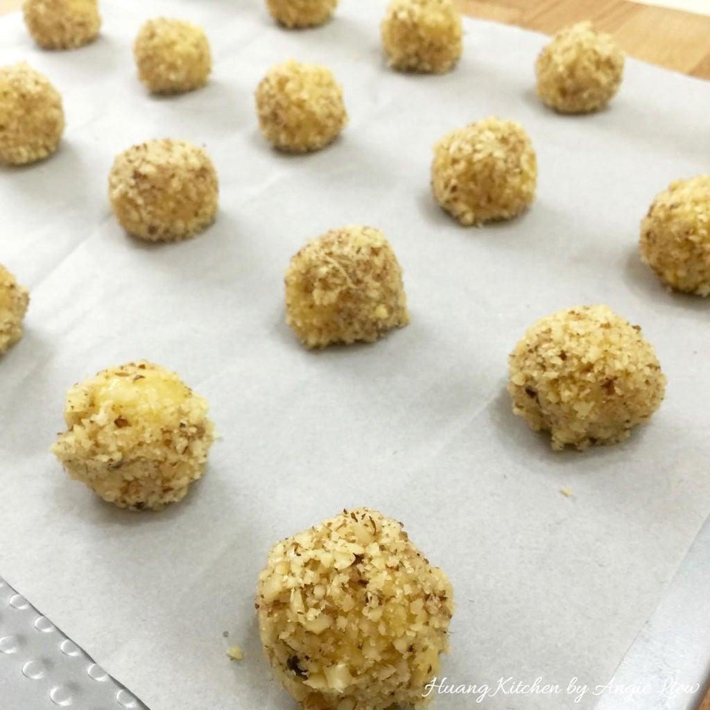 Now, Make Thumbprint Cookies.