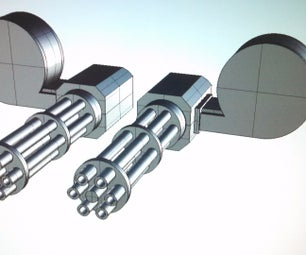 3D Printed Minigun