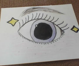 How to Draw a Eye in Simple Steps.