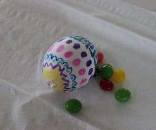 Hidden Message Egg (wine Glass Magnifying Lens)