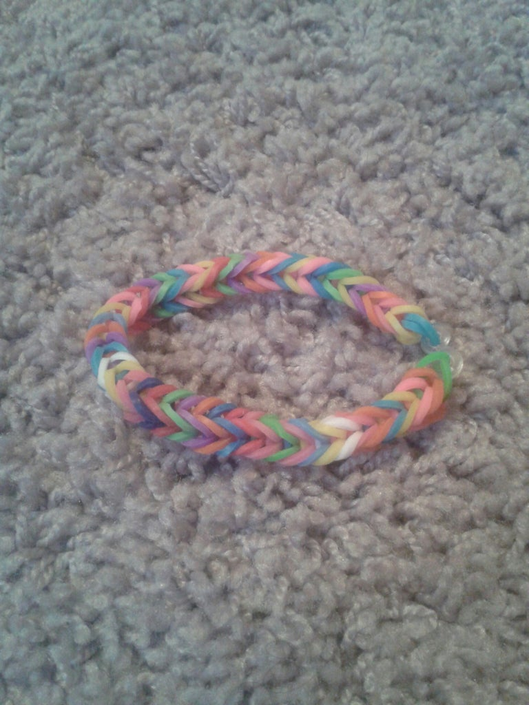 How to Make a Fishtail Bracelet (without the Loom)