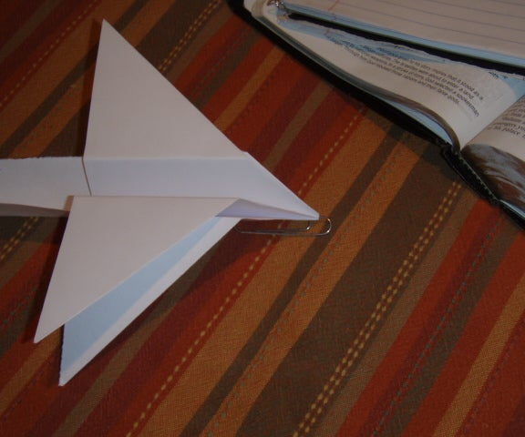 Four Winged Paper Airplane