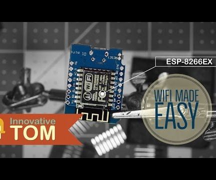 Wemos ESP8266 Getting Started Guide With Arduino IDE