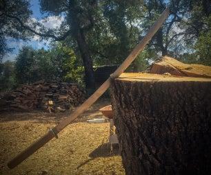 Making a Samurai Sword From Scrap Metal