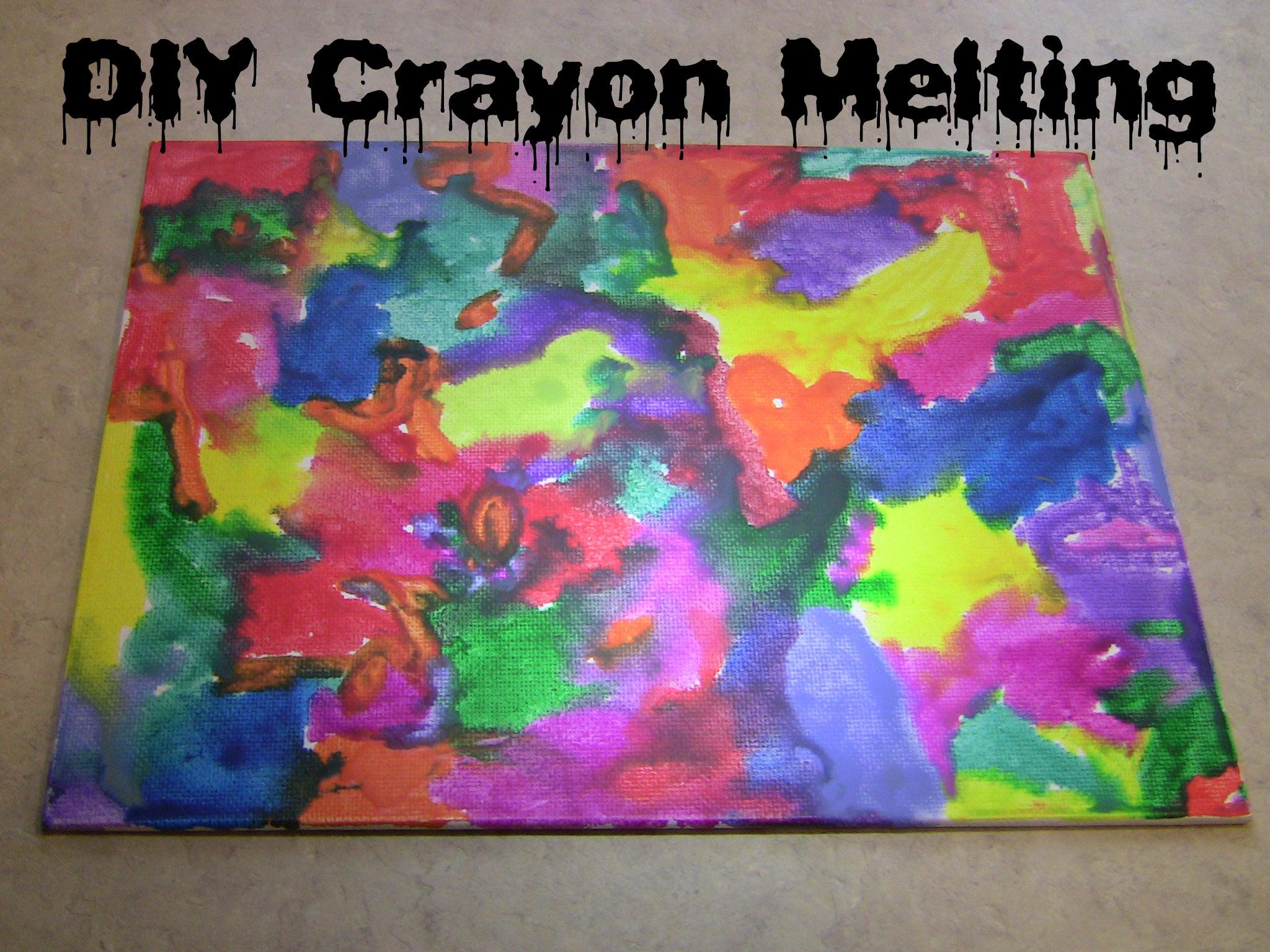 DIY Crayon Melting : 4 Steps - Instructables