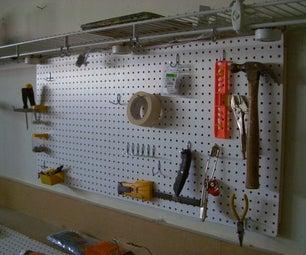 Workshop Pegboard