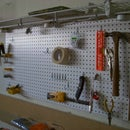Workshop pegboard