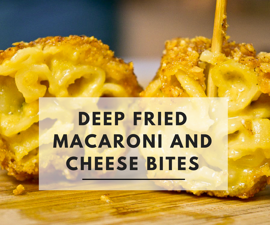 Tortilla Crumbed Deep Fried Macaroni and Cheese
