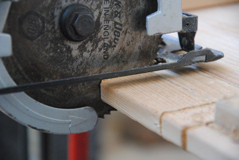 Cut the Wooden Pad (cushion)