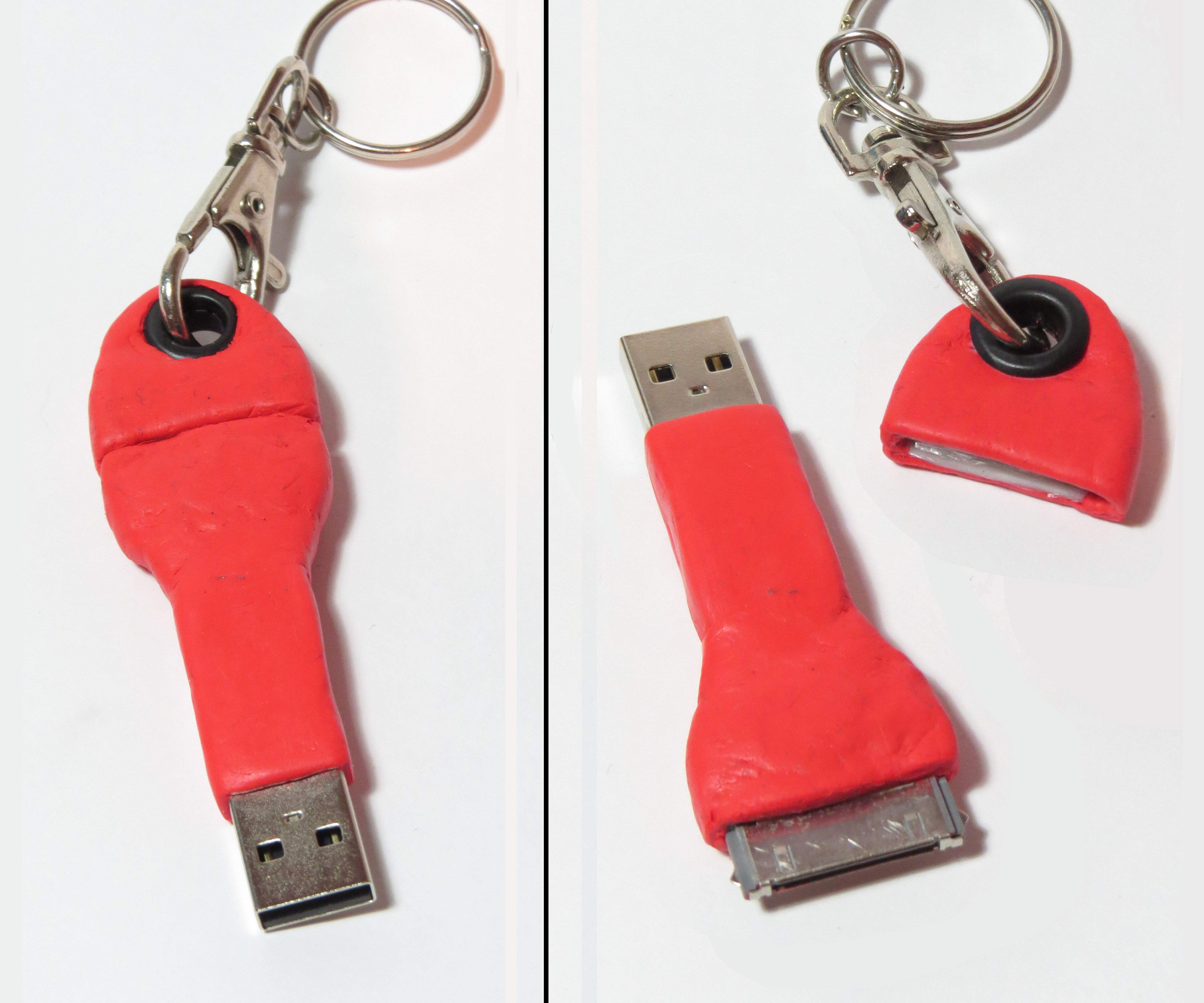Keychain iPhone Cable