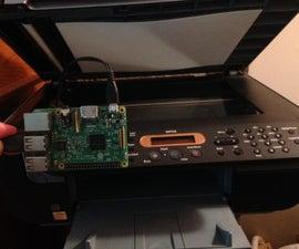 Make a Scanner Wireless