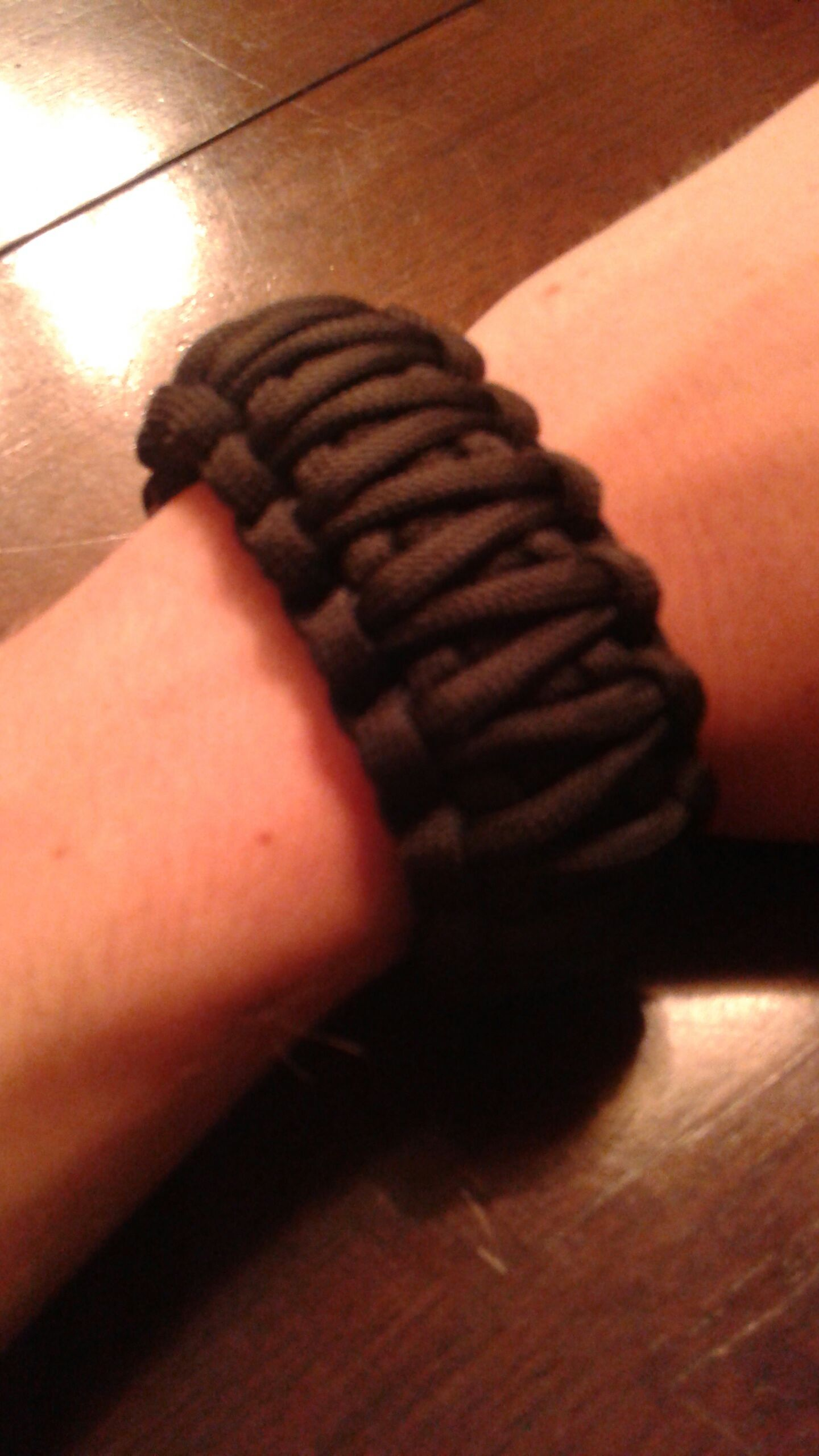 Paracord King Cobra Weave Bracelet