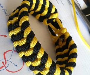 Ladder Bracket or Trilobite Paracord Bracelet